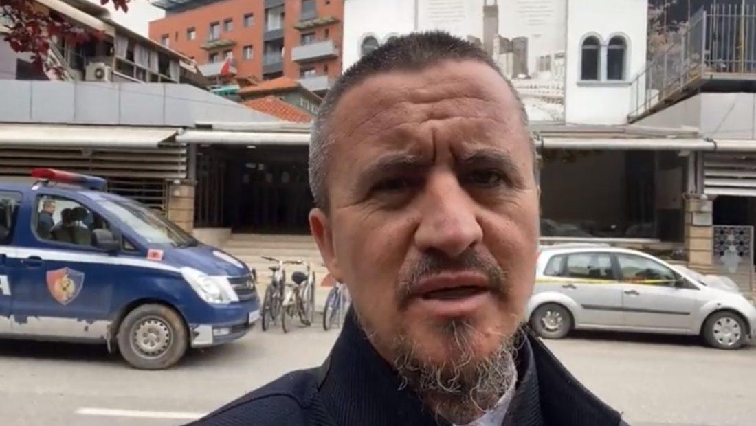 ahmed kalaja imami i xhamise se rruges se kavajes ku ndodhi sulmi me thike 1100x620 1 1100x620